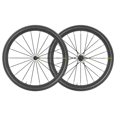 Mavic Cosmic Pro Carbon SL UST 19 Wheelset (Pair), Black