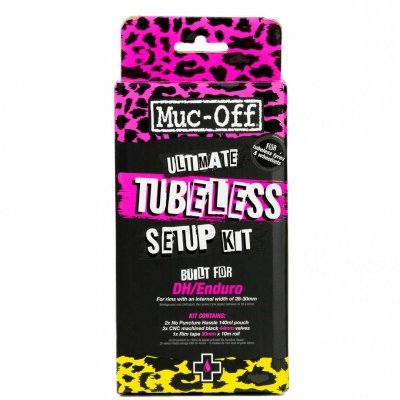 Muc-Off Ultimate Tubeless Setup Kit - DH/Trail/Enduro