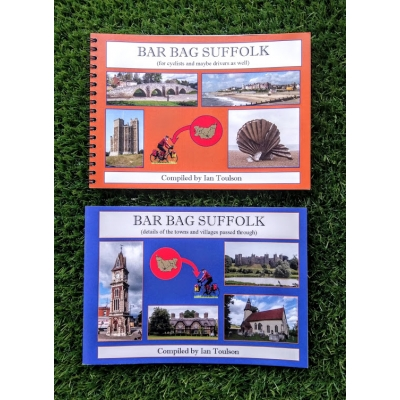 Revel Outdoors Suffolk Cycle Guides by Ian Toulson