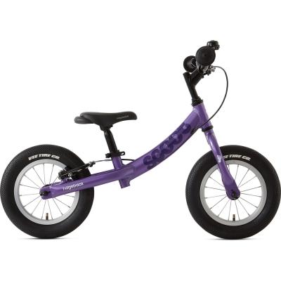 Ridgeback Scoot Beginner Balance Bike, 12in wheel, Purple 2020