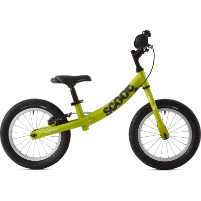 Ridgeback Scoot XL Beginner Balance Bike, 14in wheel, Lime 2020