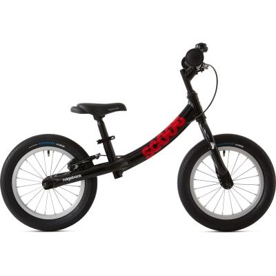 Ridgeback Scoot XL Beginner Balance Bike, 14in wheel, Black 2020