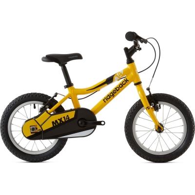 Ridgeback MX14 14in Boy's Bike, Yellow 2020