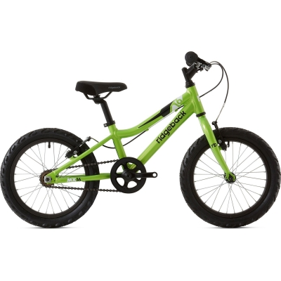 Ridgeback MX16 16in Boy's Bike, Green 2020