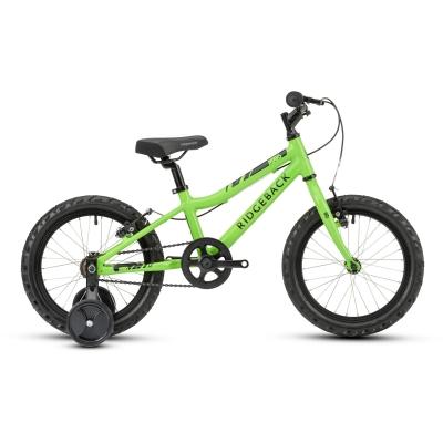 Ridgeback MX16 16in Boy's Bike, Green 2021