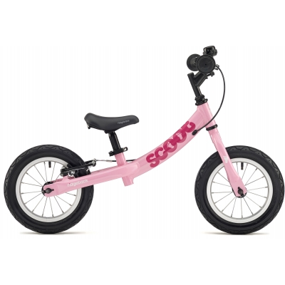 Ridgeback Scoot Beginner Balance Bike, 12in wheel, Pink 2018