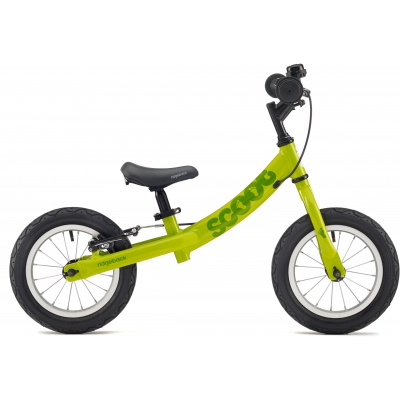 Ridgeback Scoot Beginner Balance Bike, 12in wheel, Lime 2018