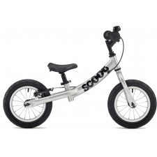 Ridgeback Scoot Beginner Balance Bike, 12in wheel, Sil...