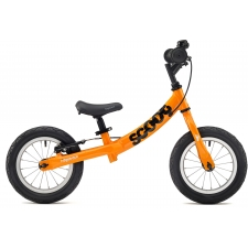 Ridgeback Scoot Beginner Balance Bike, 12in wheel, Ora...