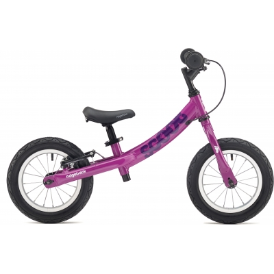 Ridgeback Scoot Beginner Balance Bike, 12in wheel, Purple 2018