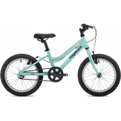Ridgeback Melody 16in Girl's Bike, Teal 2018