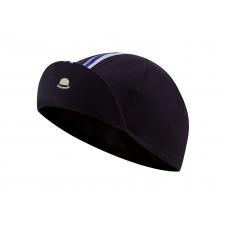Chapeau! Cotton Cap, Striped Grosgrain, Deep Ocean