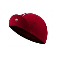 Chapeau! Cotton Cap, Striped Grosgrain, Devon Red