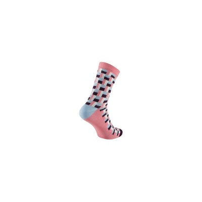 Chapeau! Midweight Performance Socks, Tile Print, Tall