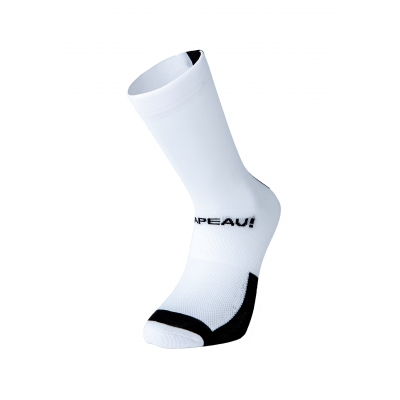 Chapeau! Lightweight Performance Socks, The Marque, Tall, White/Black