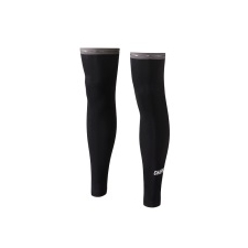 Chapeau! Leg Warmers, Wordmark, Black
