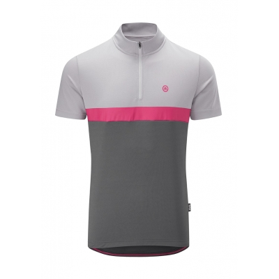 Chapeau! Caf?? Colour Block Jersey, Carbon Grey