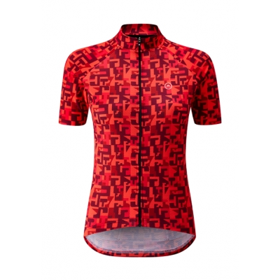 Chapeau! Ladies Club Jersey Pattern, Hot Coral