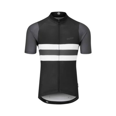 Chapeau! Tempo Jersey Block Stripe, Black/Carbon Grey