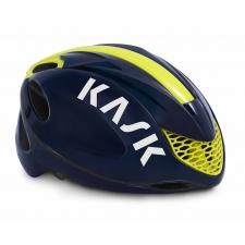 Kask Infinity Road Helmet - Navy Blue/Yellow Fluo