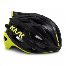 Kask Mojito X Road Helmet - Black/ Yellow Fluo