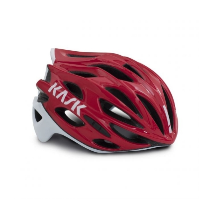 Kask Mojito X Road Helmet, Red/White