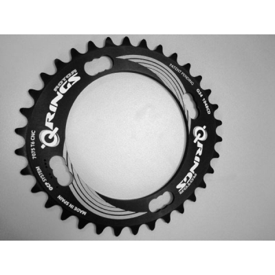 Rotor Q Rings 104 BCD Compatible Single Speed Chainring