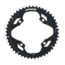 FSA Pro Road Chainring (2x11, 120x50T, Black, 4H)