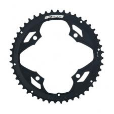 FSA Pro Road Chainring (2x11, 120x50T, Black, 4H)