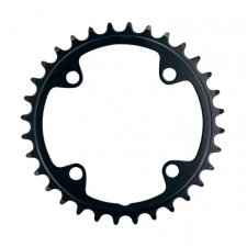 FSA Pro Road Chainring (2X11, 90X34T, Black, 4H)