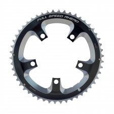 FSA Super Road Chainring (2x11, 110x50T, Black, 5H), 3...