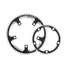 FSA Pro Road Chainring (2x11, 110x36T, Black, 5h)