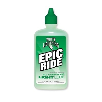 White Lightening Epic All Condition Lube 4oz Bottle (120ml)
