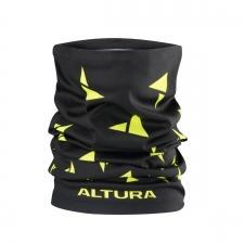 Altura Neck Warmer, Black/Hi-Viz Yellow