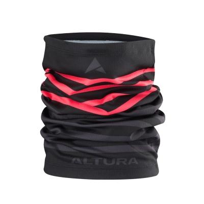 Altura Neck Warmer, Black/Grey
