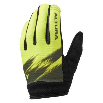 Altura Kids Spark Gloves, Yellow/Olive