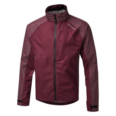 Altura Nightvision Storm Waterproof Jacket, Maroon