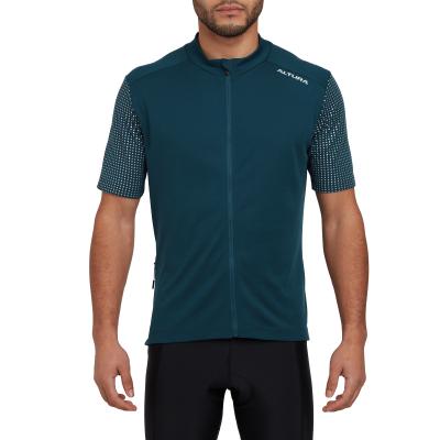 Altura Nightvision Mens Short Sleeve Jersey, Navy