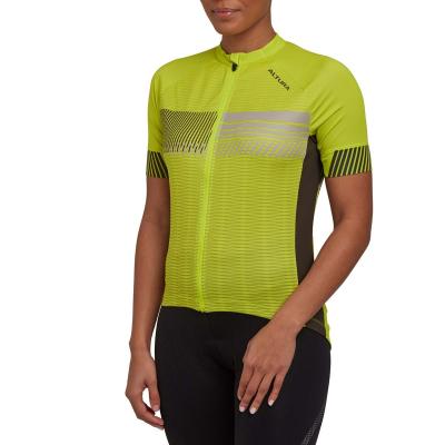 Altura Women's Club Short Sleeve Jersey, 2021, Lime