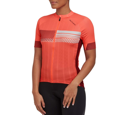 Altura Women's Club Short Sleeve Jersey, 2021, Coral