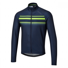 Altura Airstream Long Sleeve Jersey, Yellow/Navy