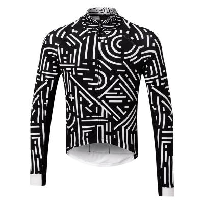Altura Icon Long Sleeve Jersey, Tokyo, White/Black