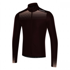 Altura Nightvision Long Sleeve Jersey, Maroon/Orange