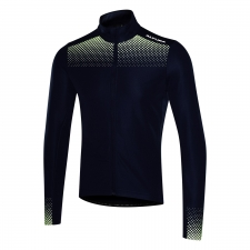 Altura Nightvision Long Sleeve Jersey, Navy/Green