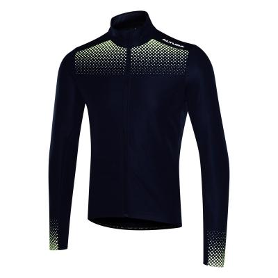 Altura Nightvision Long Sleeve Jersey, Navy/Green