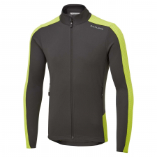 Altura Nightvision Long Sleeve Jersey, Lime/Carbon