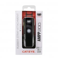 Cateye AMPP 200 USB Rechargable Front Light