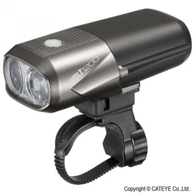 Cateye Volt 1200 Front Light, 1200 Lumen, USB