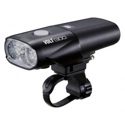Cateye Volt 1300 Front Light, 1300 Lumen, USB Rechargeable
