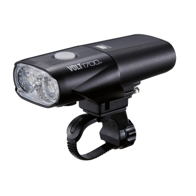 Cateye Volt 1700 Front Light, 1700 Lumen, USB Rechargable